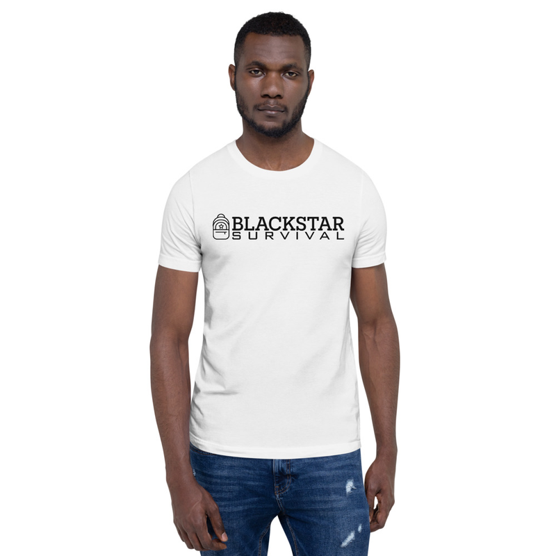 BlackStar Survival Logo Short-Sleeve T-Shirt