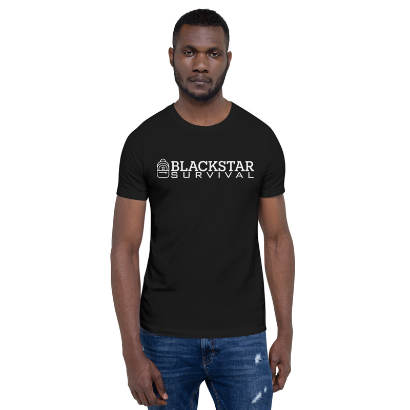 BlackStar Survival Logo Short-Sleeve Unisex T-Shirt