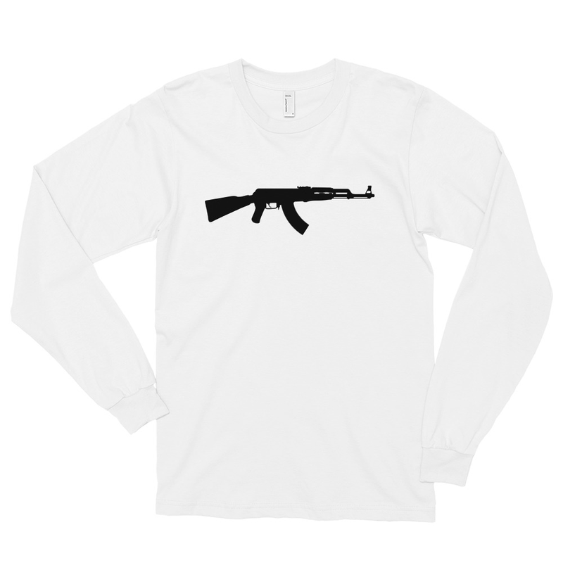 BlackStar Survival AK47 Long sleeve t-shirt - White