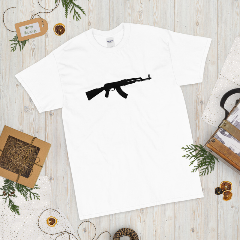 AK-47 Short Sleeve T-Shirt - White