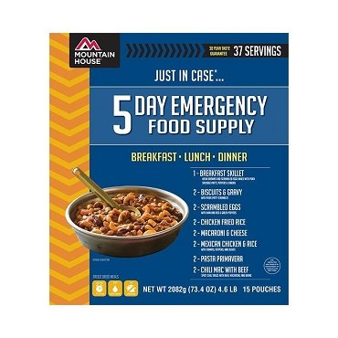 Just in Case...® 5 Day Emergency Food Supply