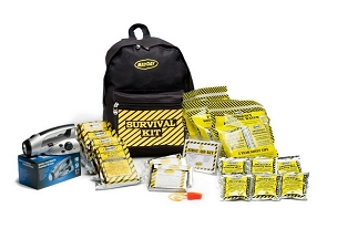 Economy Survival Backpack Kit - 1 Person Kit