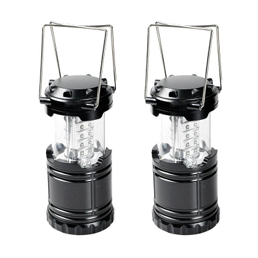 2 Pack Magnetic LED Pack-Away Lantern