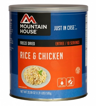 Freeze Dried Rice & Chicken