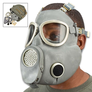Polish Gas Mask MP4 With Filter And Transport Bag