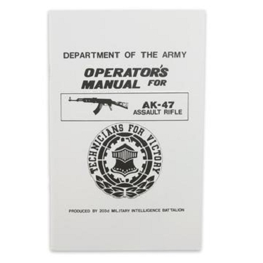 Operators AK-47 Assault Rifle Manual