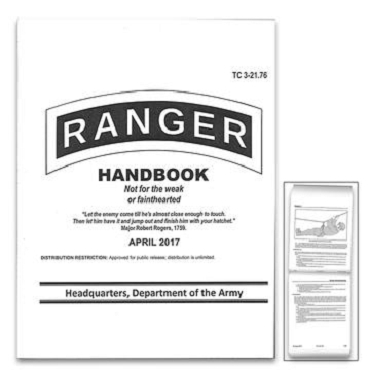 Ranger Handbook 2017 - Fully Illustrated
