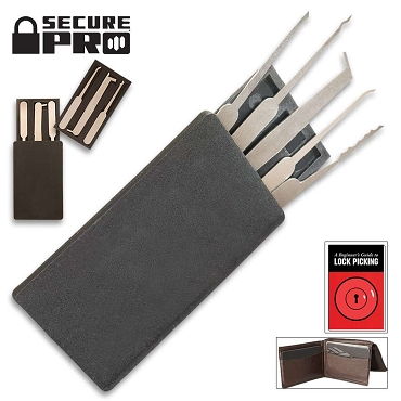 Credit Card-Sized Lock Picking Set