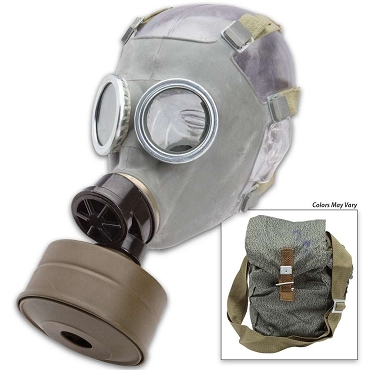 Surplus Polish MC-1 Gas Mask w/ Filter