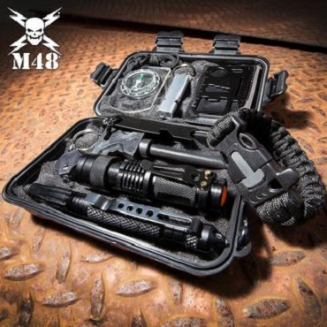 M48 Survival Tool Box - Weatherproof TPU Case