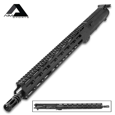 "15"" M-Lok AR15 Upper Assembly In 5.56 NATO - High-Quality Materials, All Necessary Parts Included"