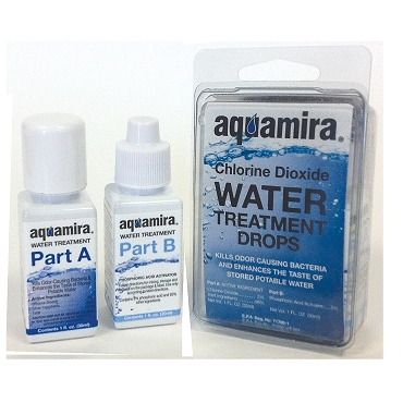 Aquamira, Water Treatment Drops, 1 oz Bottles