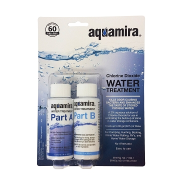 Aquamira, Water Treatment Drops, 2 oz Bottles