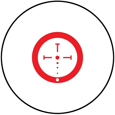 Burris AR-536 Red Dot Illuminated Ballistic CQ Reticle w/ FastFire 3