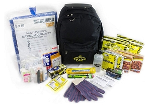 Roll And Go Survival Kit - 2 Person Kit