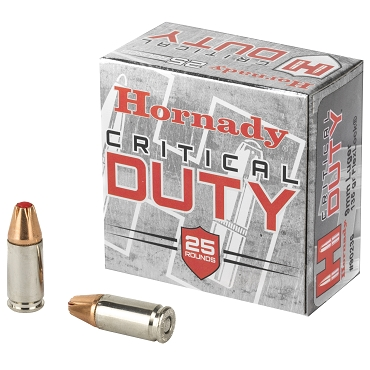 Hornady Critical Duty 9MM Ammo 135 Grain FlexLock