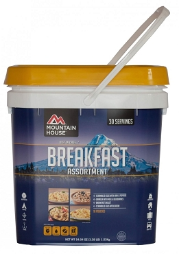 Just in Case...® Breakfast Assortment Bucket