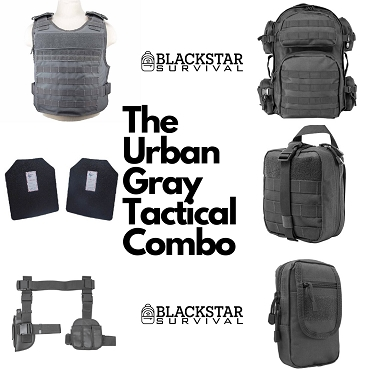 Urban Gray Tactical Combo - BlackStar Survival