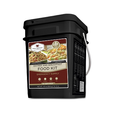 NEW Gluten Free 84 Serving Entree and Breakfast Bucket