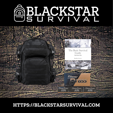 Tactical Backpack - Various Colors - with Blazer Brass- 40S&W - 180 Grain - FMJ - 150 Rounds - W/ Free Survival Guide
