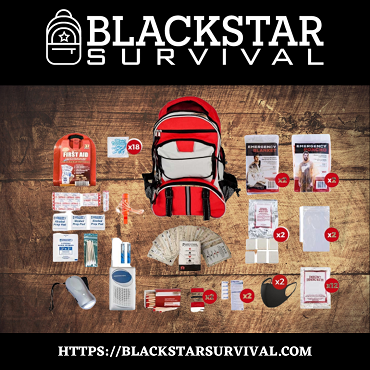 2 Person Silver Survival Kit (72+ Hours) - BlackStar Survival