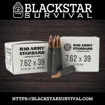 Red Army Standard - 7.62x39 - 122 Grain - FMJ - 20 Rounds