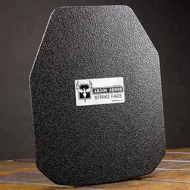 AR500 Armor® Level III Curved Spall Coated Plates - Various Sizes