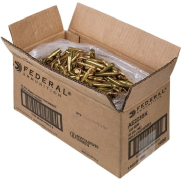 FEDERAL AMERICAN EAGLE 2.23 55 GRAIN FMJ - 20 rounds