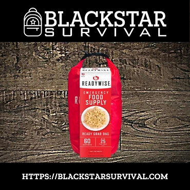 Emergency Food Supply Ready Grab Bag - BlackStar Survival