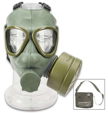Serbian M1 Gas Mask - Authentic Military Issue - Carrier / Bag