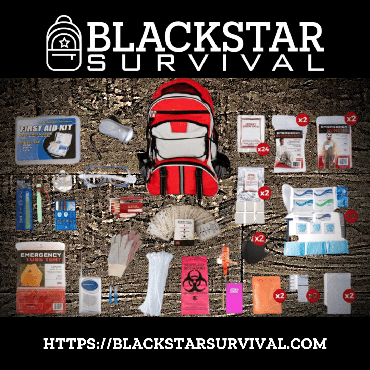 2 Person Platinum Survival Kit - BlackStar Survival