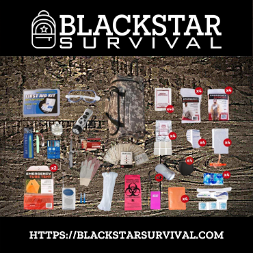 4 Person Elite Survival Kit (72+ Hours)