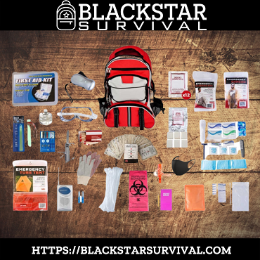 1 Person Platinum Survival Kit (72+ Hours) - BlackStar Survival
