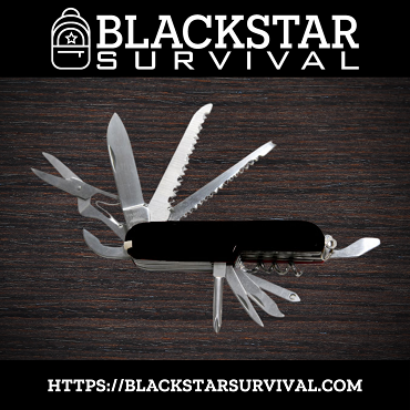 Multi-Function Pocket Knife - BlackStar Survival