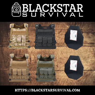 Wildcat General Issue Package w/ Level III Plates - BlackStar Survival