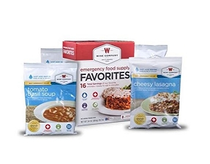 Wise Foods Emergency Survival Freeze Dried Food Favorites