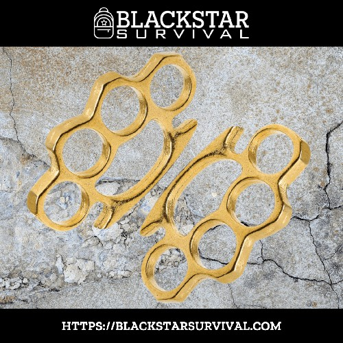 Heavy Brass Paperweights - BlackStar Survival