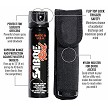 Sabre Magnum 120 Pepper Spray with Flip Top & Belt Holster - BlackStar Survival