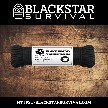 Rothco Type III Paracord 50' - Black - BlackStar Survival