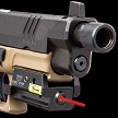 Tactical Low Profile Compact Red Laser Pistol Sight - Weaver And Picatinny Mount - BlackStar Survival