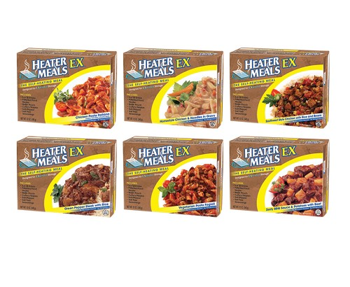 Heater Meals - 12 pack - Assorted Flavors