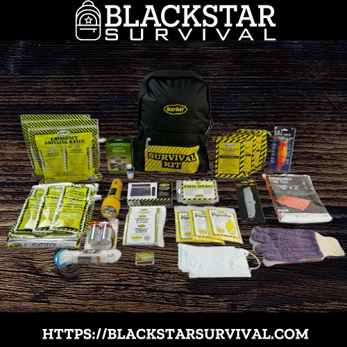 Deluxe Survival Backpack Kit - 3 Person Kit